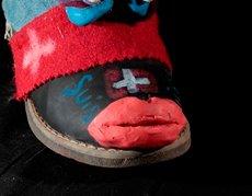Les élèves de 6ème du collège Saint Jean ont créé des détournements de chaussures dans la cadre des enseignements d'arts plastiques - Apprentis d'Auteuil