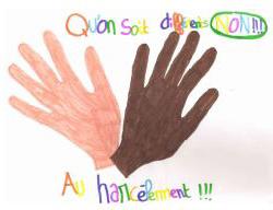Les élèves du collège Saint Jean (81) ont construit un guide contre le harcelement scolaire pour informer et sensibiliser les autres élève.