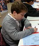 """Dans le cadre du projet d'un EPI, les élèves de 4eA et B du collège Saint Jean participent à un projet intitulé """"dessine-moi un drone"""" au Fablab de Toulouse"""