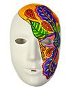 EPI en 5e au collège Saint-Jean (81) : Des masques et moi: Démasquez-moi, chaque élève a réalisé un masque qui reflète ses différentes identités.