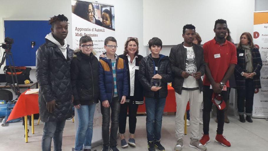 Le premier Makerspace challenge 2018 organisé par apprentis d'Auteuil avec le soutien des fondations Thales, Sofronie, Un pas avec toi, s'est déroulé au sein de l'établissement Saint François à Labège.
