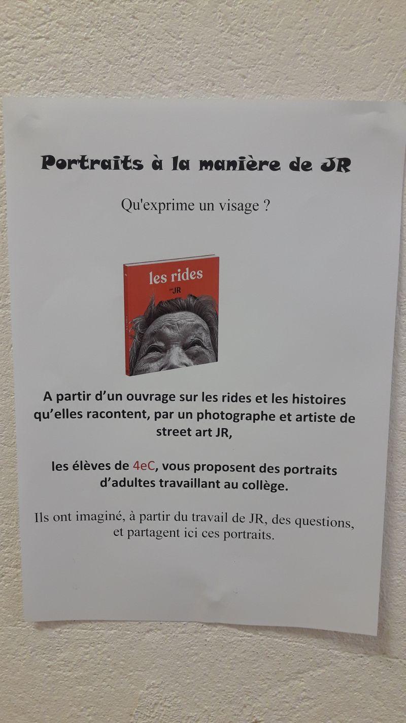 galerie de portraits